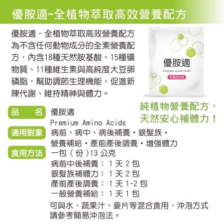 買5送1 母親節限定優惠【優胺適】Premium Amino Acids(15包/盒) 加贈環保涼感口罩套1只(顏色隨機 送完為止) 2
